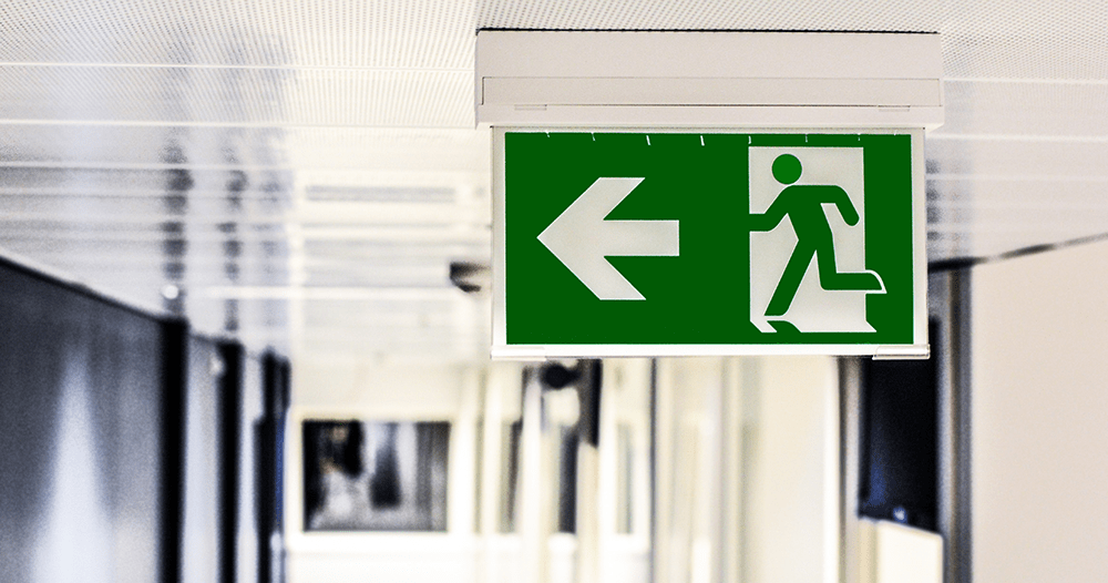 Emergency sign and lighting